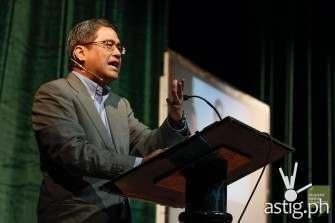 Rico Hizon at the Student Media Congress 2014