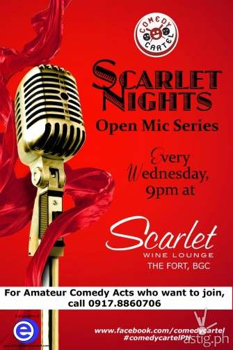 Comedy Cartel presents: Scarlet Nights open mic series