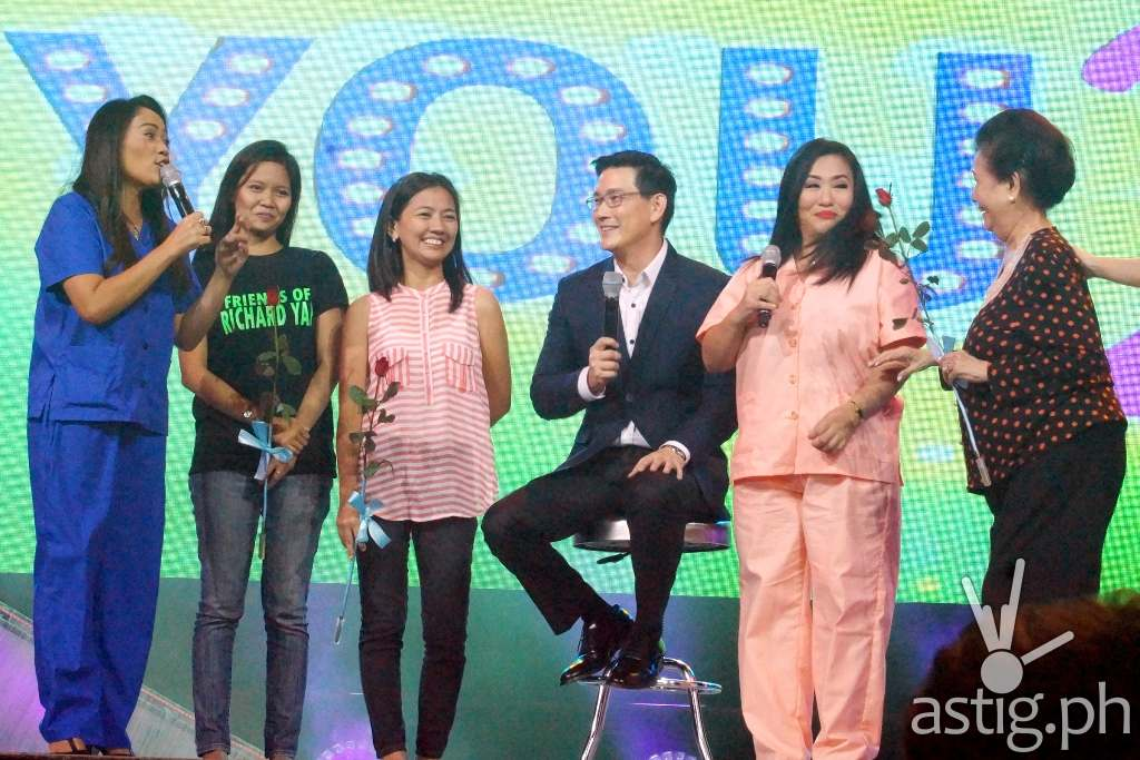 Ser Chief made three lucky fans happy during the 'Maya's Guide to Ser Chief's Heart' game