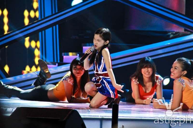Team Lea's Darlene (Upbeat Song performance)