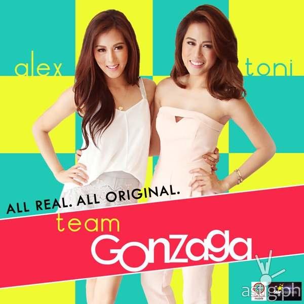 Toni Gonzaga and Alex Gonzaga in Team Gonzaga