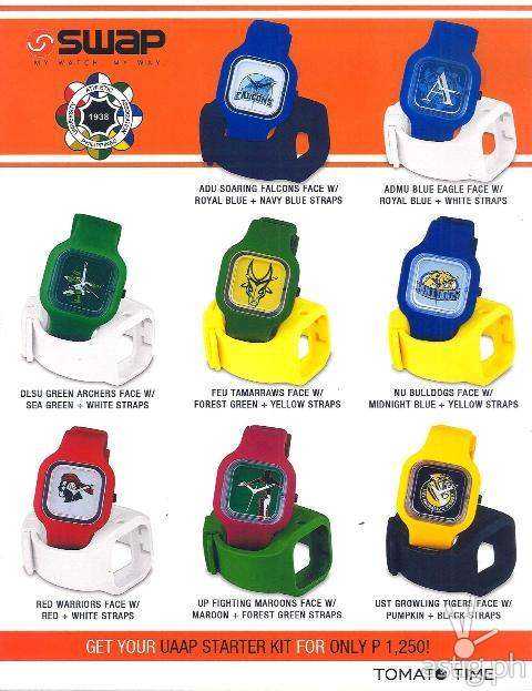 UAAP Swap Watches by Tomato Time (1,250 PHP)