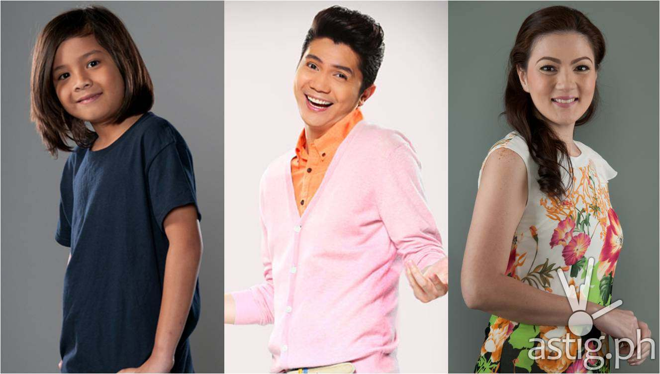 Vhong Navarro, Carmina Villarroel, and Louise Abuel will fill the month of August with magic and important values as they star in the newest 'Wansapanataym' special titled 'Nato de Coco'