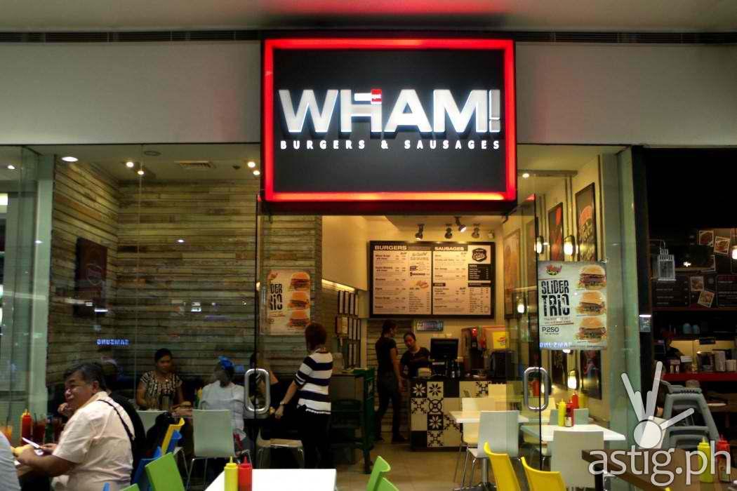 WHAM! Burgers SM North EDSA