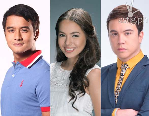 Can JM de Guzman, Julia Montes, and Arjo Atayde in Singing Bee