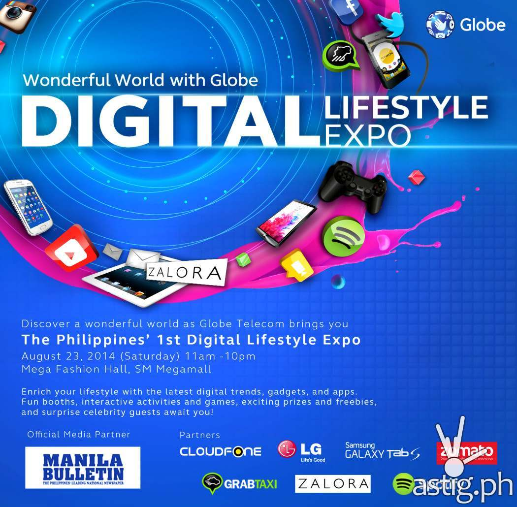 Globe Philippines Digital Lifestyle Expo poster