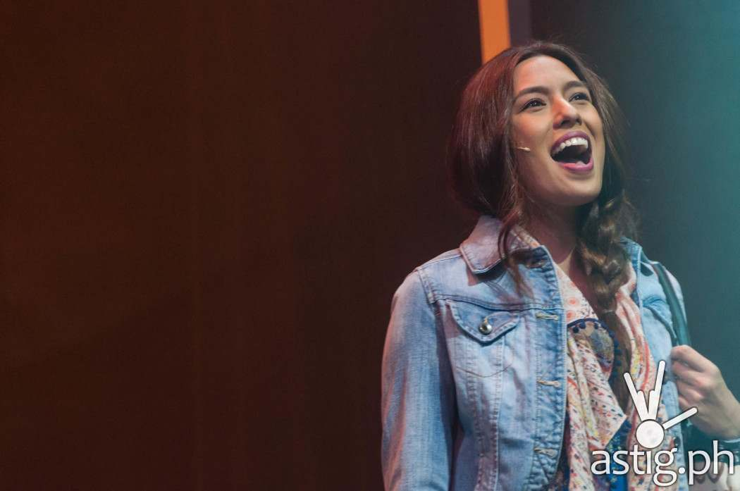 Nikki Gil's singing, perky personality, and uh, experience with heartbreak - is perfect for her role as Cathy Hyatt