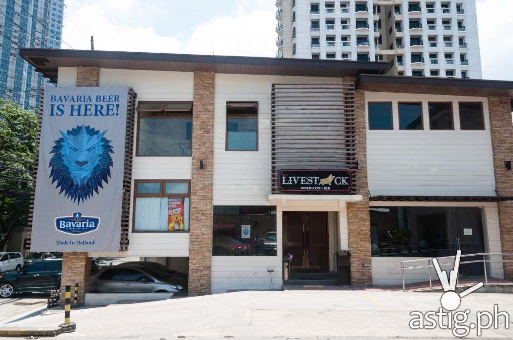 Livestock Bar and Restaurant in Quezon City facade