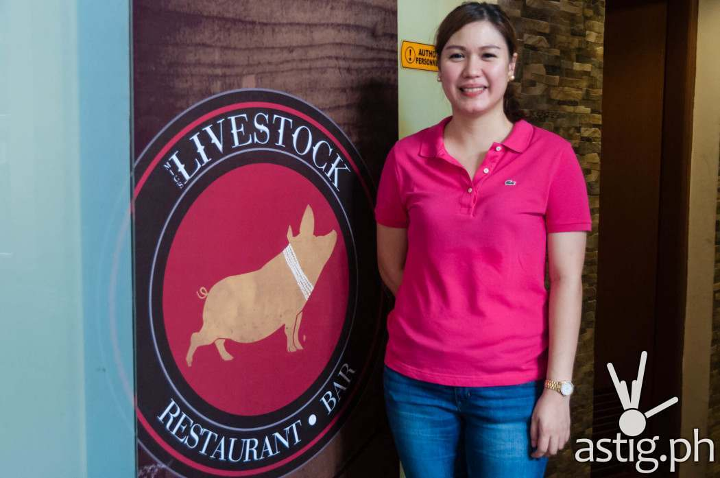 Ching Uy, Executive Chef and owner of Livestock Restaurant and Bar