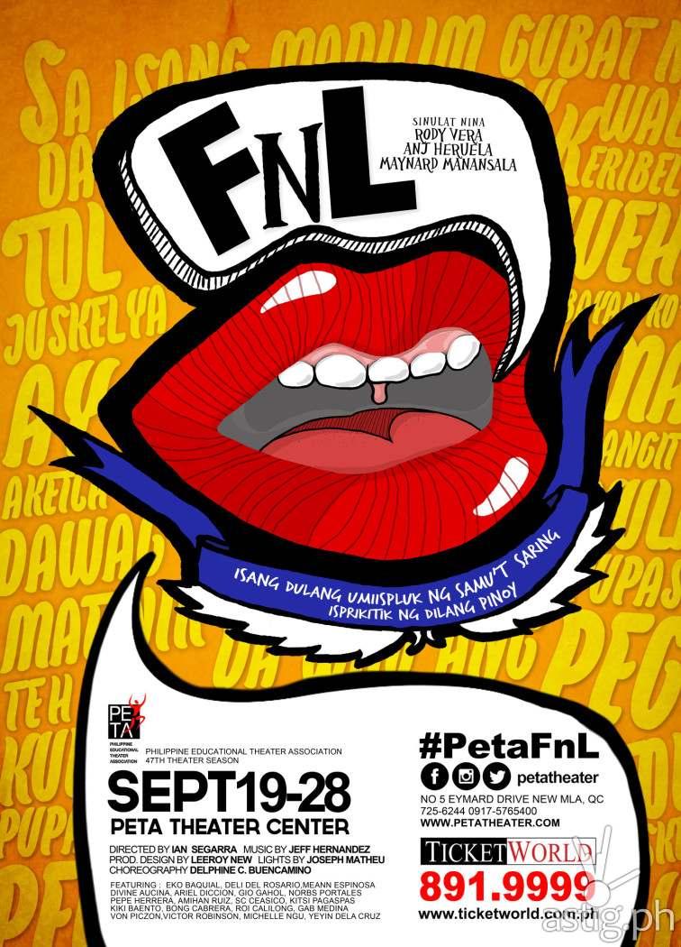 FnL by PETA poster