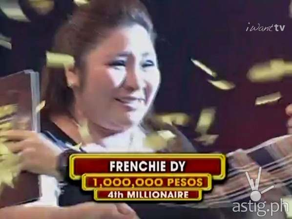 Frenchie Dy wins P1M in The Singing Bee