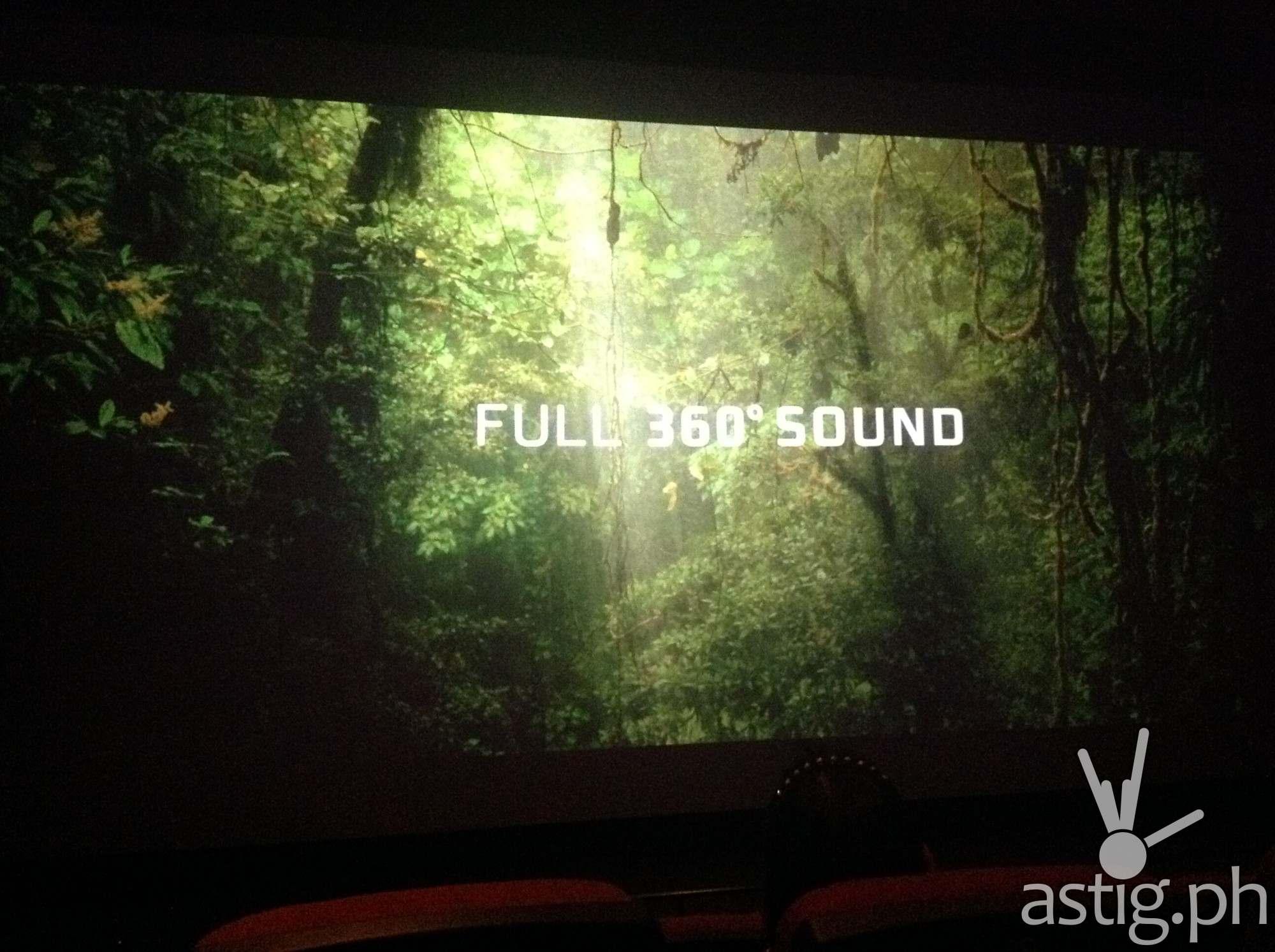 Full 360° Sound