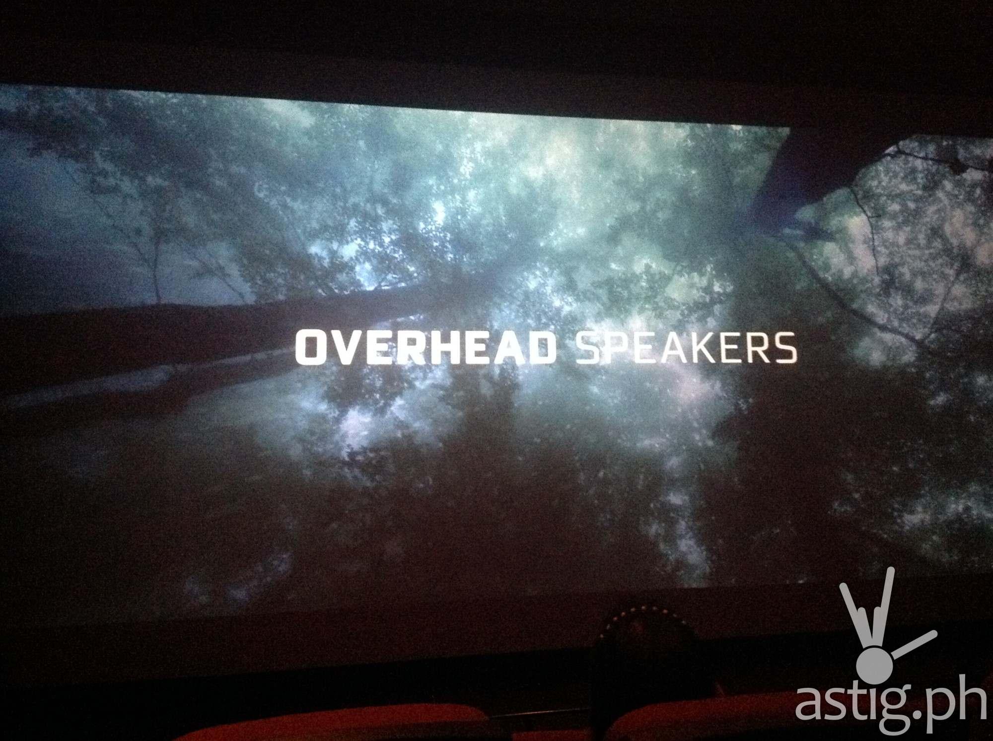Overhead Speakers