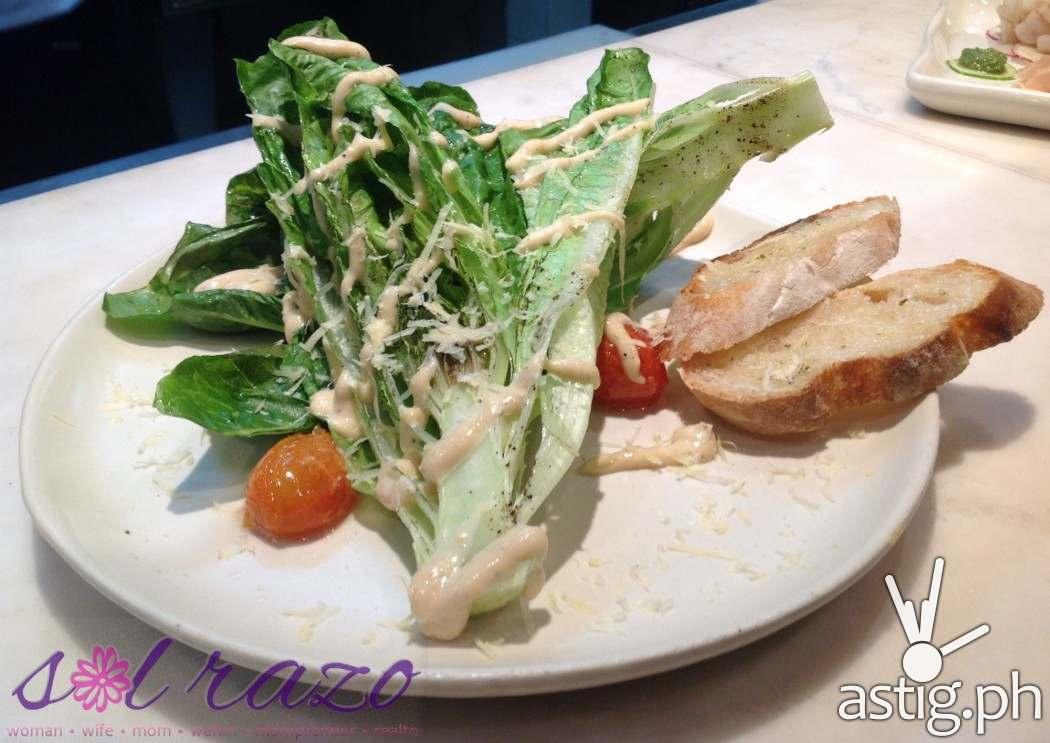 Bruce Lim's Rustique Kitchen Caesar Salad