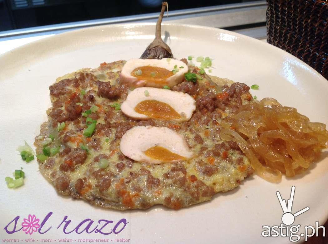 Bruce Lim's Rustique Kitchen Tortang Talong