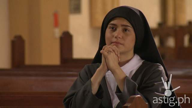 Jessy Mendiola as a Catholic nun