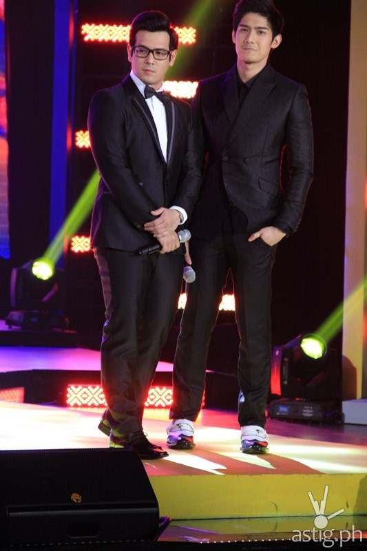 John Prats and Robi Domingo