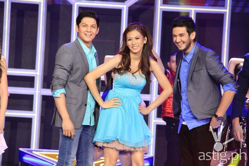 Joseph Marco, Alex Gonzaga, and Matt Evans