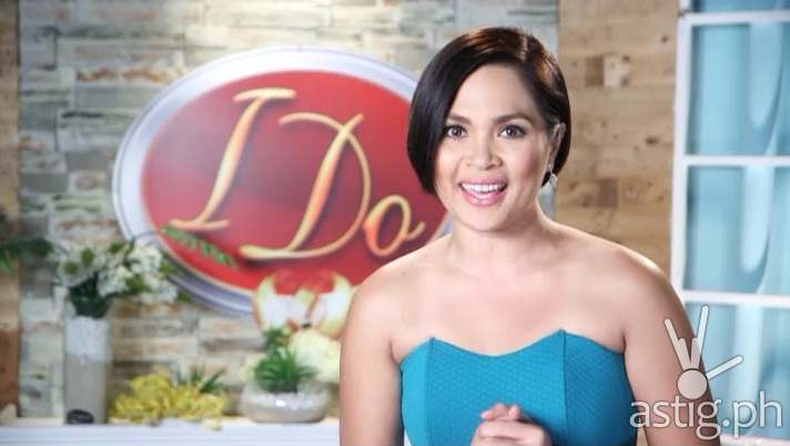 Judy Ann Santos-Agoncillo I Do host