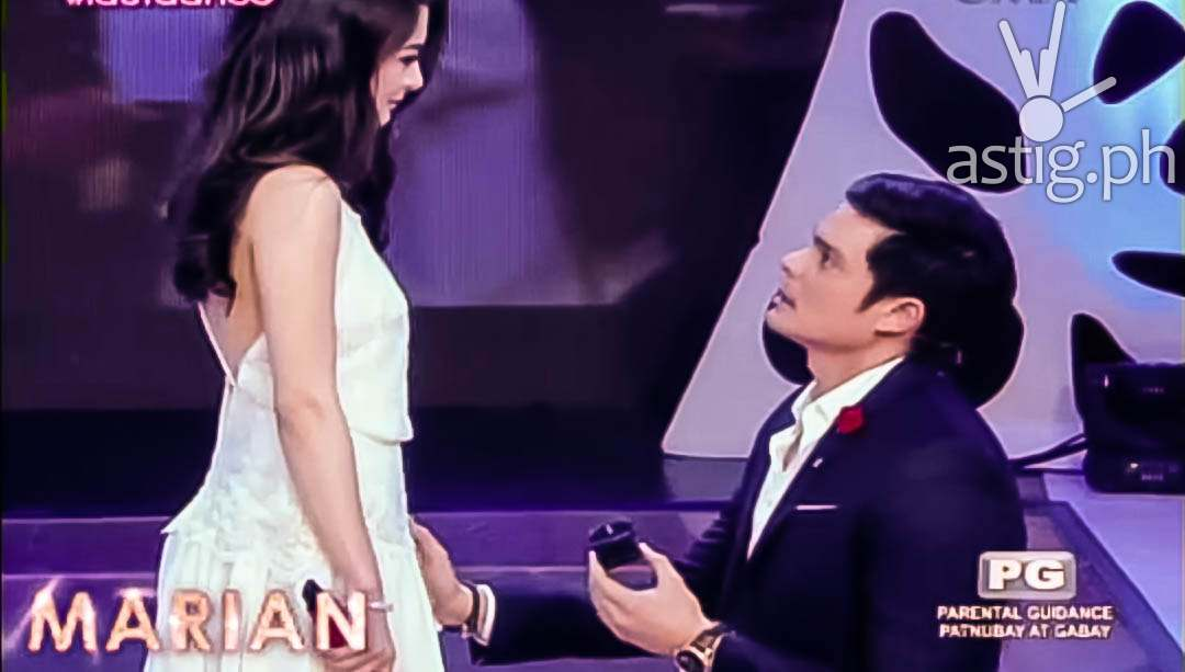 Marian Rivera Dingdong Dantes wedding proposal video