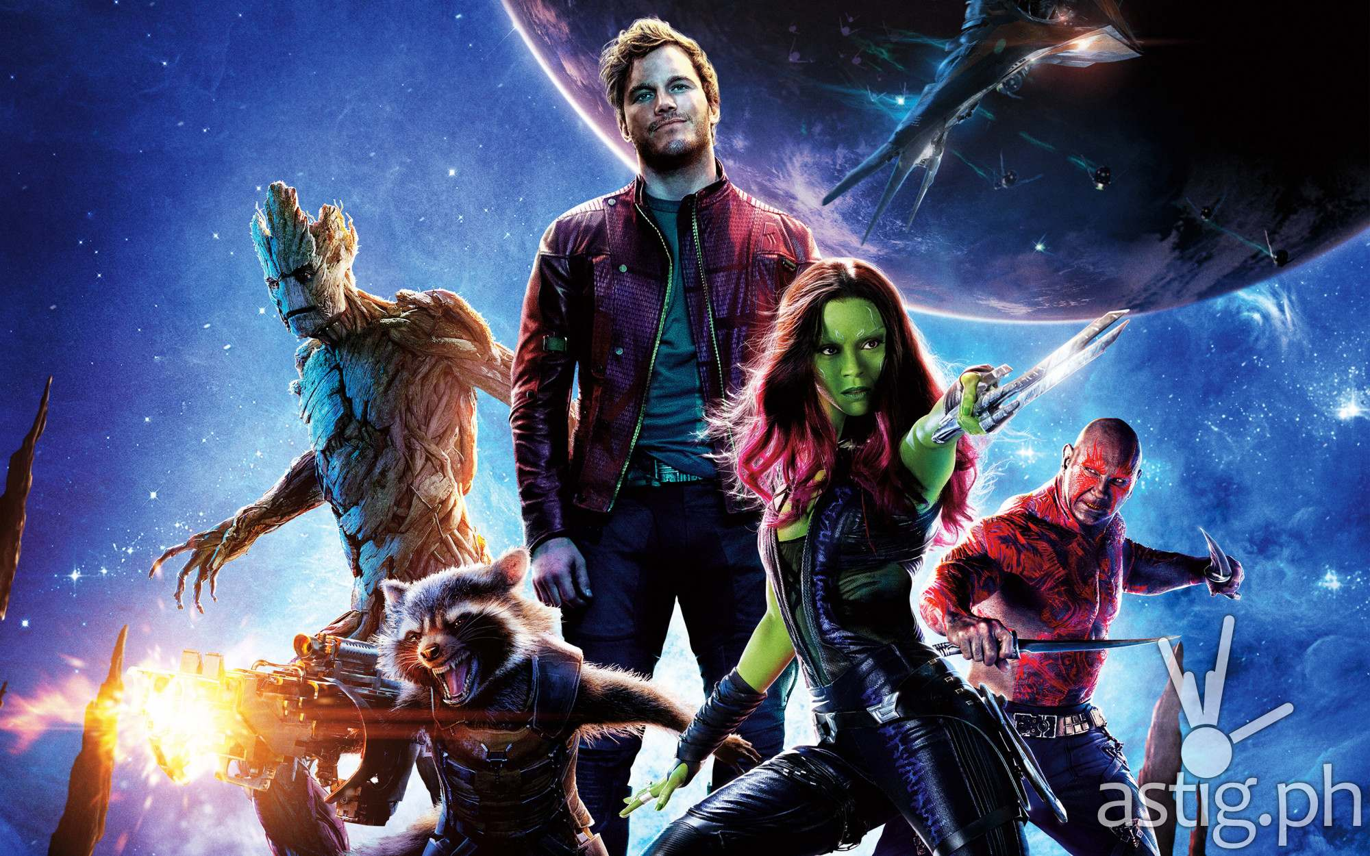 Marvel Guardians of the Galaxy 2014
