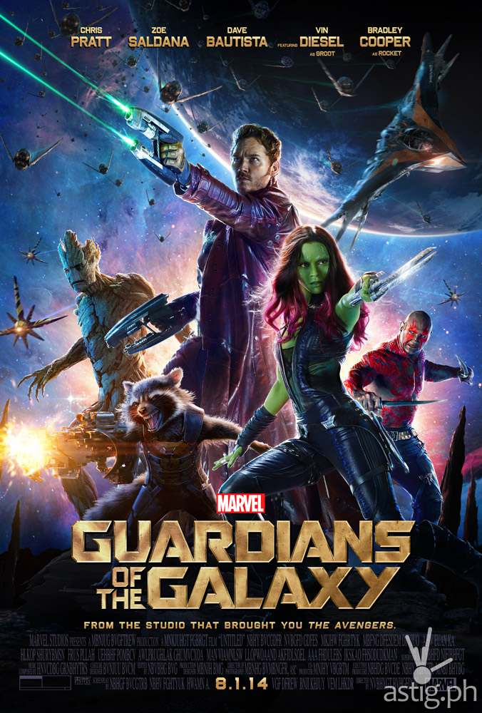 Marvel Guardians of the Galaxy poster