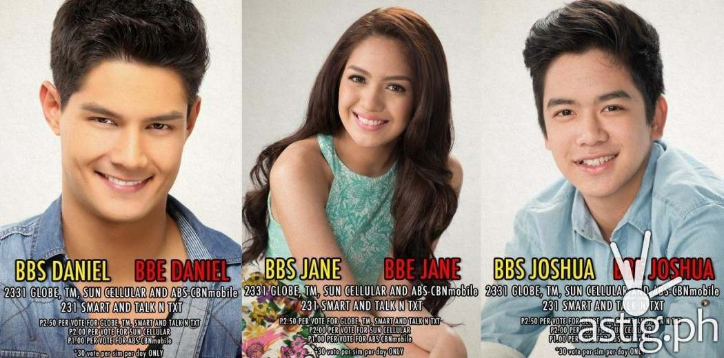 Nominees for eviction Daniel, Jane, and Joshua