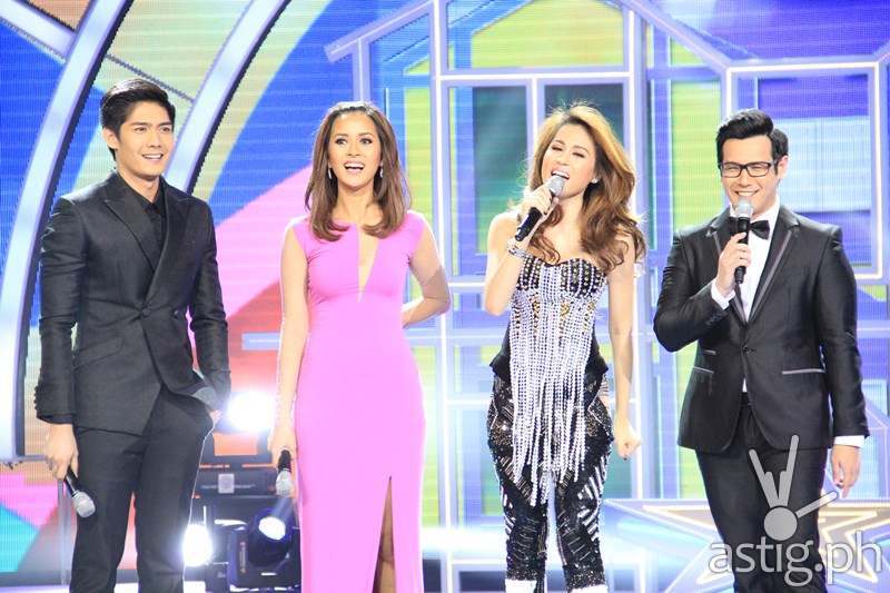 PBB hosts Robi, Bianca, Toni, and John