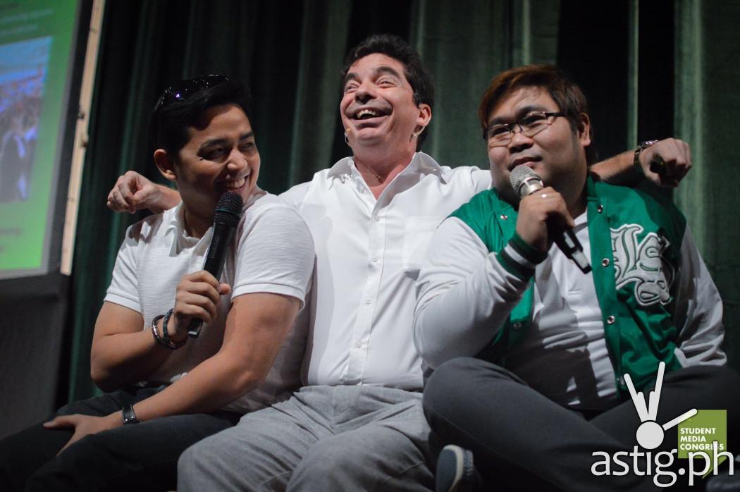 Papa Jack, Santiago Elizalde, and Chico Loco
