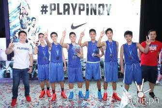Nike #PLAYPINOY basketball champions: Amazing Playground