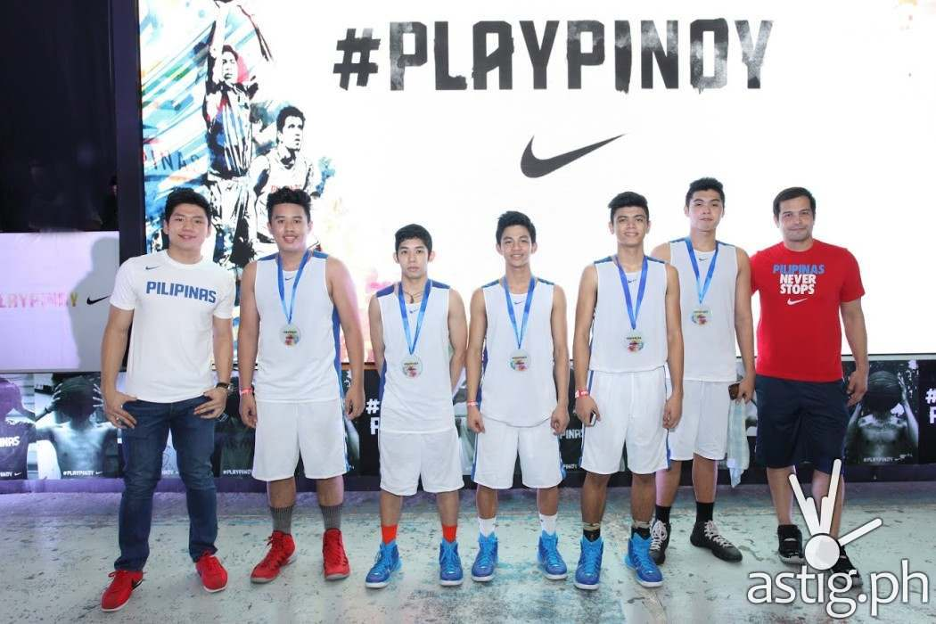 Team FEU Yellow comes in second at the Nike PLAYPINOY basketball tournament