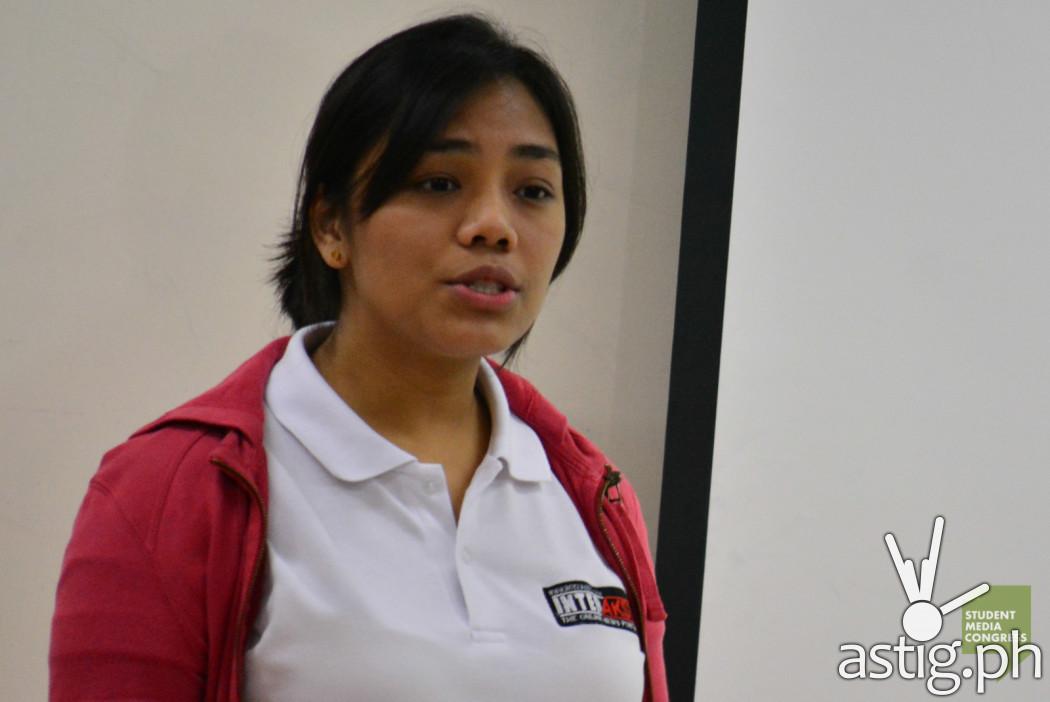 Tricia Aquino, reporter for Interaksyon.com