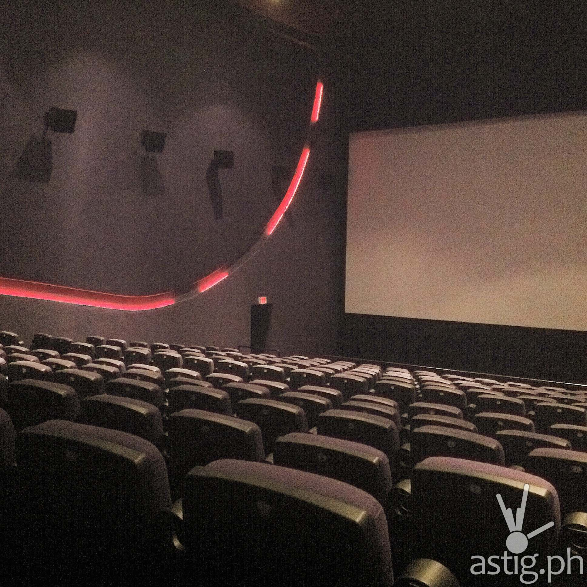 The Promenade cinemas are very clean and comfortable - much better than watching at home, yes?