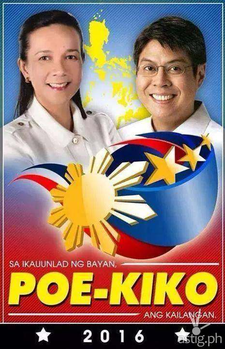 "Poe-Kiko: Grace Poe and Francis ""Kiko"" Pangilinan 2016 Philippine Elections"