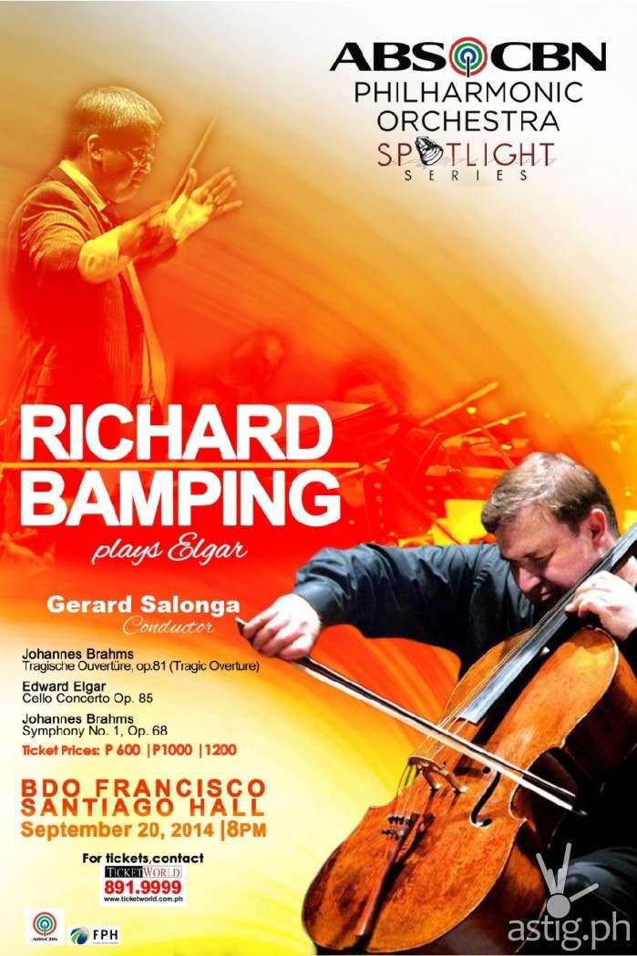 Richard Bamping concert poster