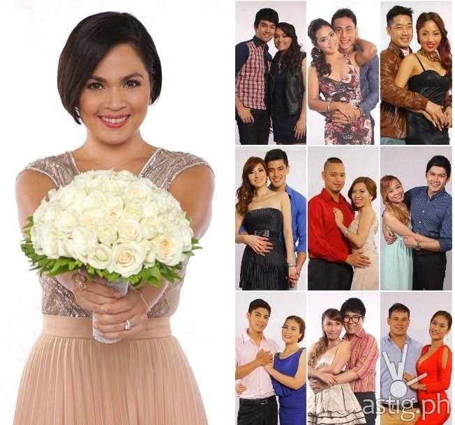 "Judy Ann Santos Wedding Gown: Judy Ann To Send One Couple Home In First ""I Do"