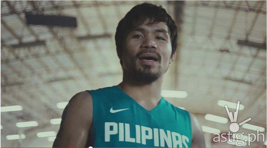Manny Pacquiao, proud supporter of Nike #PLAYPINOY