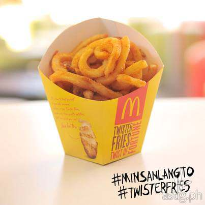 McDonald's Twister Fries (65 PHP)