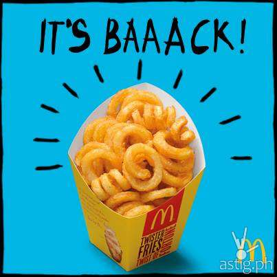 McDonald's Twister Fries BFF (139 PHP)