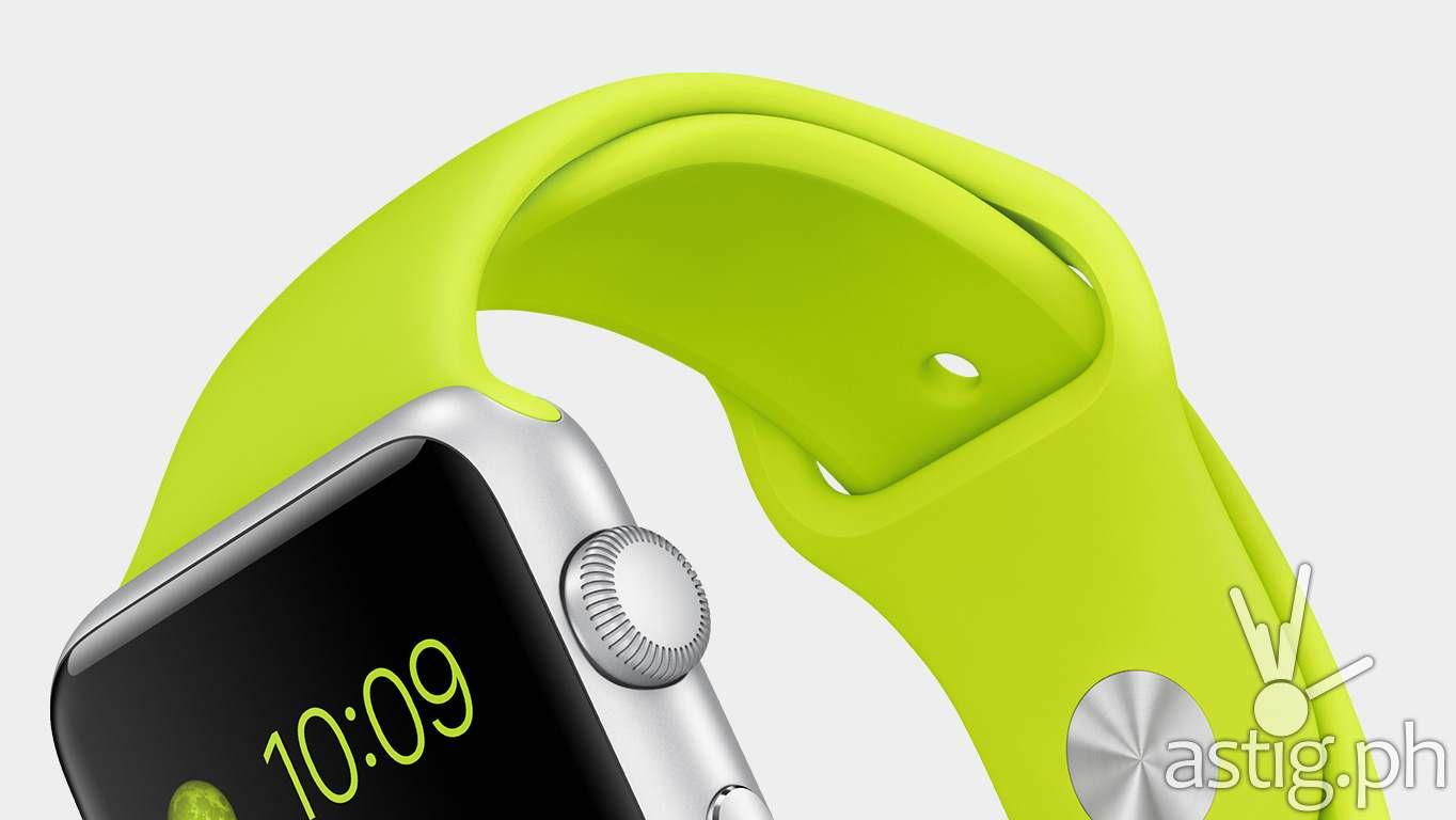 Apple Watch green