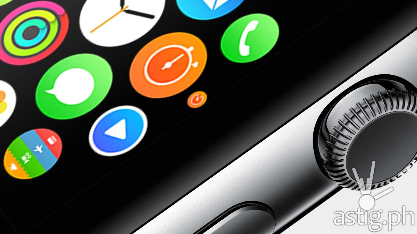 Apple Watch (iWatch) screen and Digital Crown