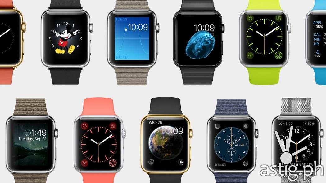 Apple Watch (iWatch) face customization