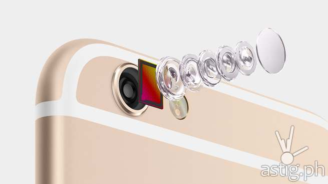 Apple iPHone 6 iSight camera