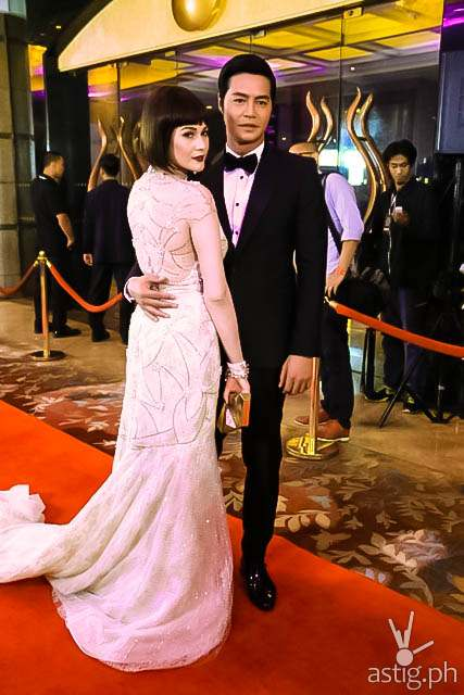 Bea Alonzo and Zanjoe Marudo Star Magic Ball 2014