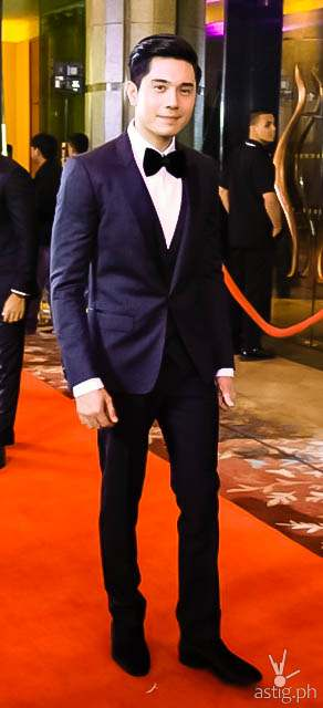 Best Dressed (male) Paulo Avelino Star Magic Ball 2014
