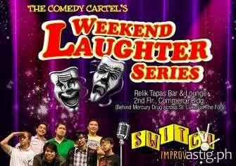Comedy Cartel weekend laughter series September 2014