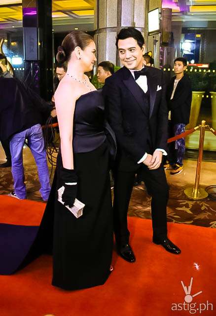 Couple of the Night John Lloyd Cruz and Angelica Panganiban Star Magic Ball 2014