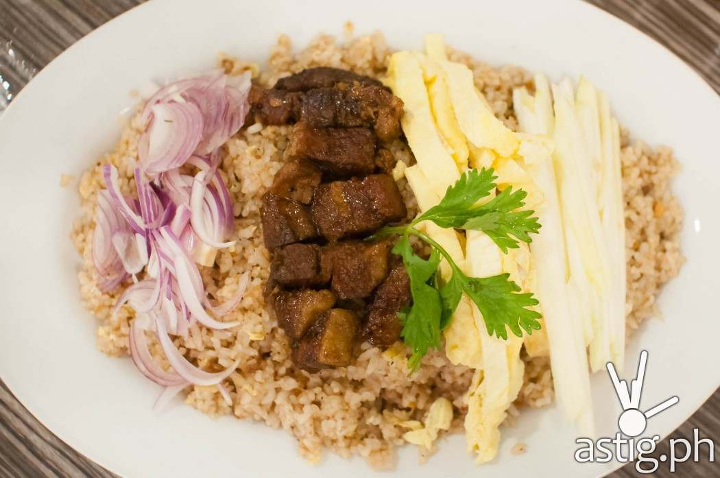 Bagoong Rice (185 PHP) Sweet Chili Thai Fish & Noodle House