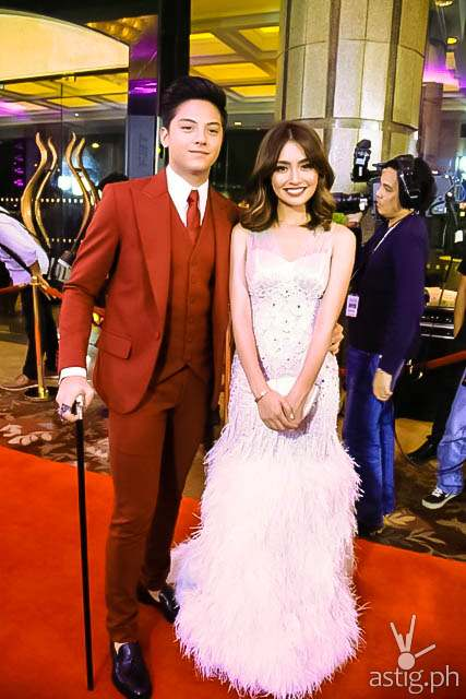 Daniel Padilla and Kathryn Bernardo Star Magic Ball 2014
