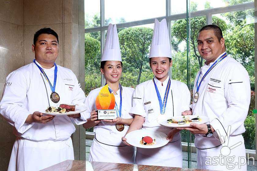 Marriott Hotel Manila dream team winners